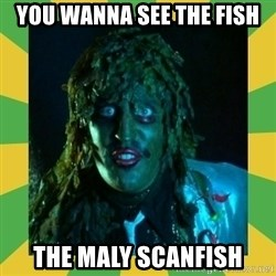 Old Greg - YOU WANNA SEE THE FISH  THE MALY SCANFISH