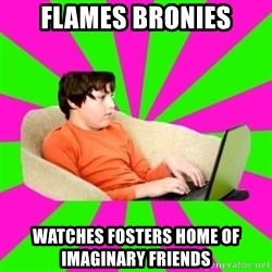HackForums Kid - flames bronies watches fosters home of   imaginary friends