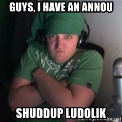 Martyn says NO! - guys, i have an annou shuddup ludolik