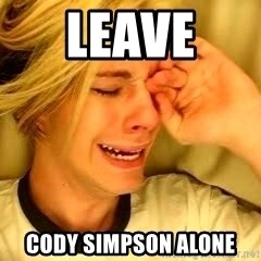 leave britney alone - Leave  Cody Simpson alone