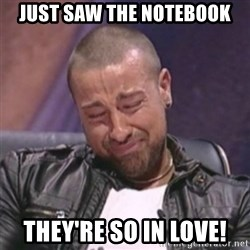 RAFALLORA - JUST SAW the notebook they're so in love!
