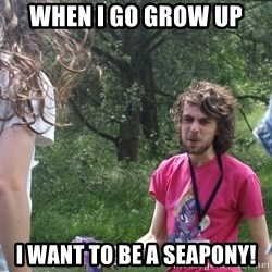 Disgruntled Brony - when I go grow up i want to be a seapony!