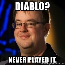 Jay Wilson Diablo 3 - Diablo? never played it.