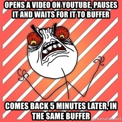 iHate - opens a video on youtube, pauses it and waits for it to buffer comes back 5 minutes later, in the same buffer