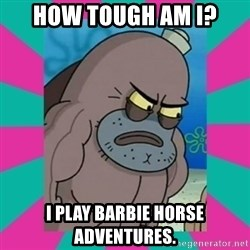 How tough am ii? - How tough am i? I play barbie horse adventures.