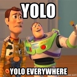 Consequences Toy Story - Yolo yolo everywhere