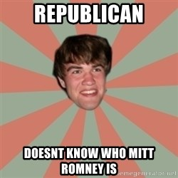 Nick Valenti - republican doesnt know who mitt romney is