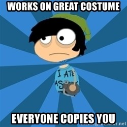 Poptropican - Works on great costume everyone copies you