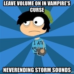 Poptropican - Leave volume on in vampire's curse Neverending storm sounds