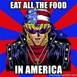 bandit keith - eat all the food in america