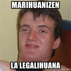 Really Stoned Guy - mARIHUANIZEN LA LEGALIHUANA