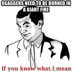 Mr.Bean - If you know what I mean - 9gaggers need to be burned in a giant fire