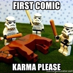 Beating a Dead Horse stormtrooper - First comic karma please