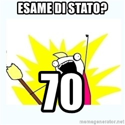 All the things - Esame di stato? 70