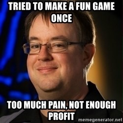 Jay Wilson Diablo 3 - Tried to make a fun game once Too much pain, Not enough profit