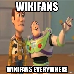 X, X Everywhere  - wikifans wikifans everywhere