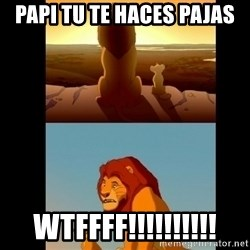 Lion King Shadowy Place - papi tu te haces pajas WTFFFF!!!!!!!!!!