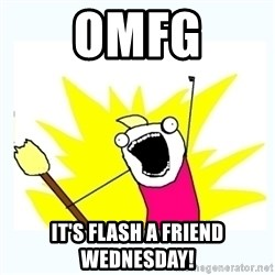 All the things - OMFG IT'S FLASH A FRIEND WEDNESDAY!