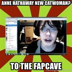 Over excited jeff - anne hathaway new catwoman? to the fapcave