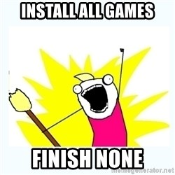 All the things - Install all games finish none