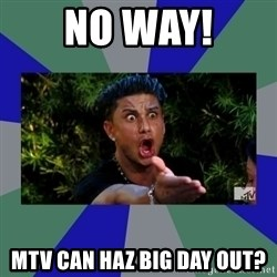 jersey shore - NO WAY! MTV CAN HAZ BIG DAY OUT?