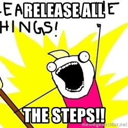 clean all the things - Release all the steps!!