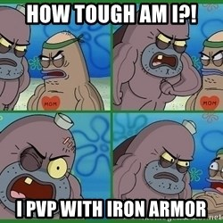 How tough are you - How Tough am i?! I pvp with iron armor