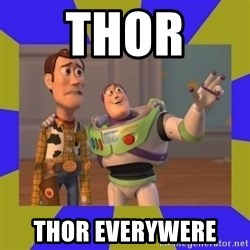 buzz lightyear 2 - thor  thor everywere