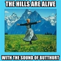 the hills are alive - The hills are alive With the sound of butthurt