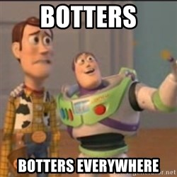 Buzz - botters botters everywhere