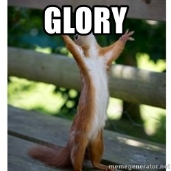 Thanking Squirrel - GLORY
