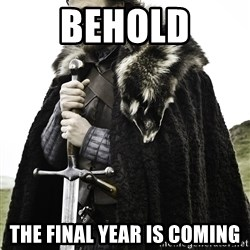 Sean Bean Game Of Thrones - Behold the final year is coming