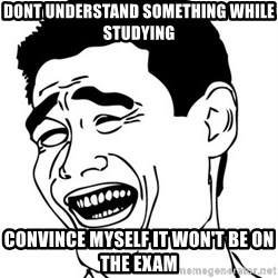 Yao Ming - Dont understand something while studying convince myself it won't be on the exam