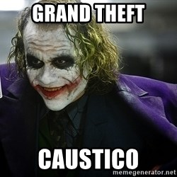 joker - grand theft caustico