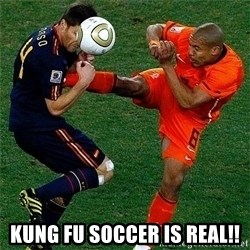 Netherlands - KUNg fu soccer is real!!