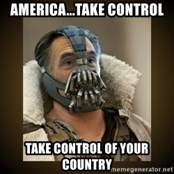 Romney Bane - America...take control take control of your country