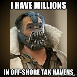 Romney Bane - i have millions in off-shore tax havens