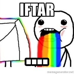 Puking Rainbows - iftar ....