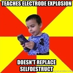 Pokemon Idiot - Teaches Electrode explosion doesn't replace selfdestruct