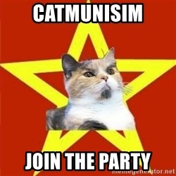 Lenin Cat - catmunisim  join the party