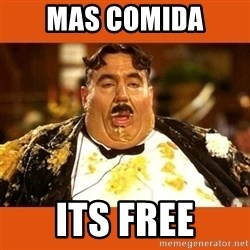 Fat Guy - mas comida  its free