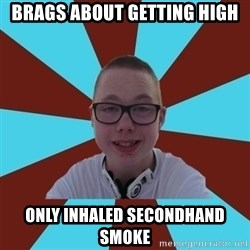 Tamas Weed Abuser - brags about getting high only inhaled secondhand smoke