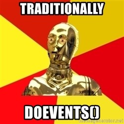 C3PO - Traditionally DoEVents()