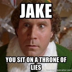 Throne of Lies Elf - Jake You Sit on a throne of lies