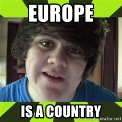 Jared Milton - Europe  Is a country