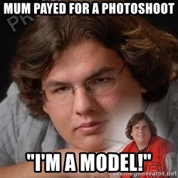 "PTSD Drumline Kid - mum payed for a photoshoot ""I'm a model!"""