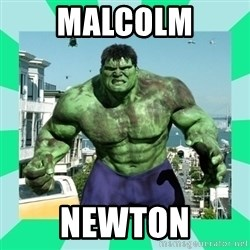 THe Incredible hulk - Malcolm Newton