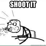 Cereal Guy Spit - shoot it