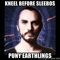 General Zod - Kneel before sleebos puny earthlings