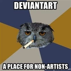 Art Student Owl - deviantart a place for non-artists